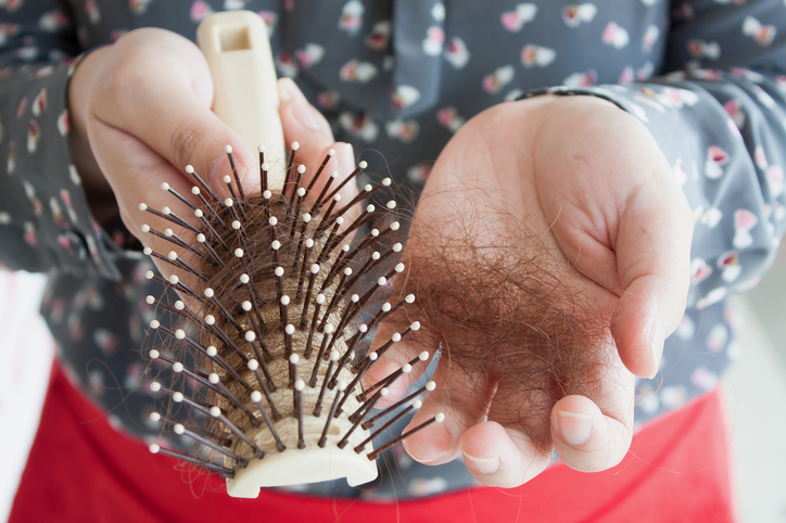 تساقط الشعر من اعراض نقص الزنك