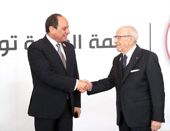 القمة العربية فى تونس بحضور الرئيس السيسى (10)