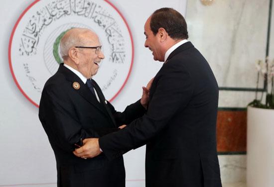 القمة العربية فى تونس بحضور الرئيس السيسى (5)