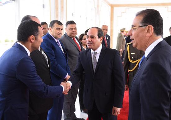 القمة العربية فى تونس بحضور الرئيس السيسى (7)