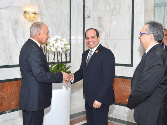 القمة العربية فى تونس بحضور الرئيس السيسى (15)