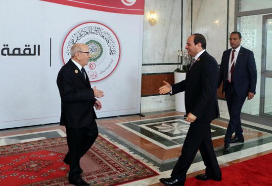 القمة العربية فى تونس بحضور الرئيس السيسى (12)