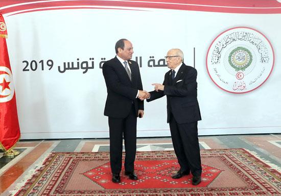 القمة العربية فى تونس بحضور الرئيس السيسى (18)