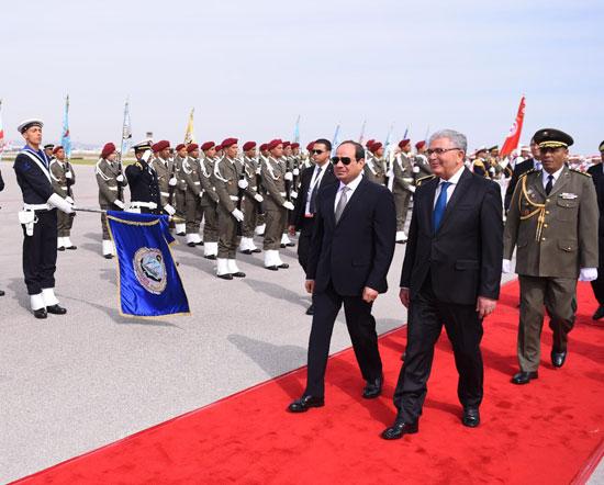 القمة العربية فى تونس بحضور الرئيس السيسى (6)