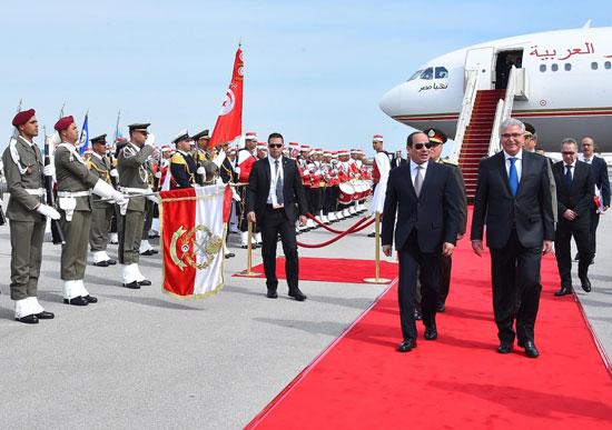 القمة العربية فى تونس بحضور الرئيس السيسى (11)