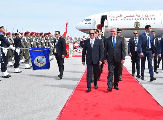 القمة العربية فى تونس بحضور الرئيس السيسى (19)