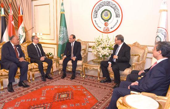 القمة العربية فى تونس بحضور الرئيس السيسى (14)