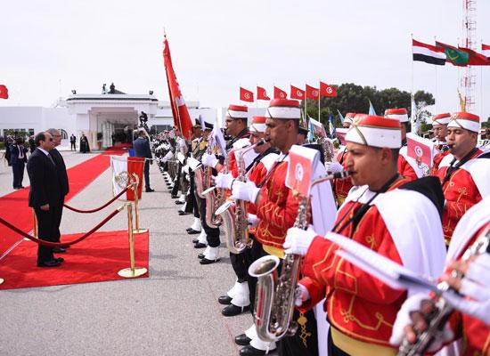 القمة العربية فى تونس بحضور الرئيس السيسى (8)