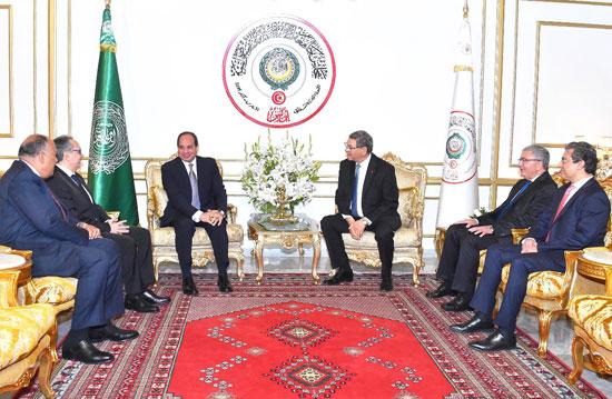 القمة العربية فى تونس بحضور الرئيس السيسى (2)