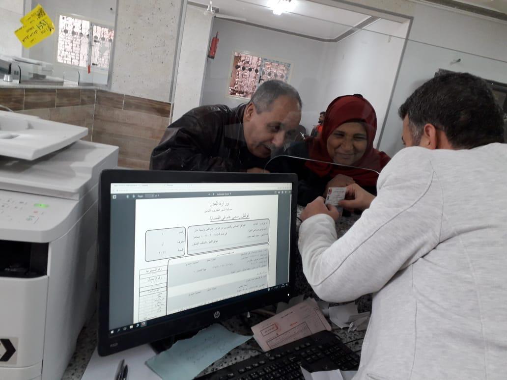 افتتاح مكتب توثيق (2)