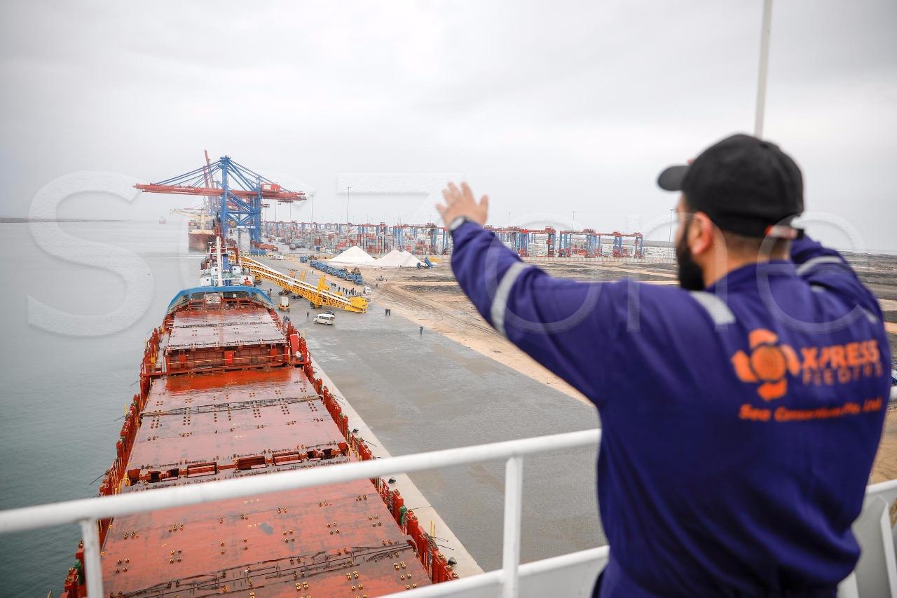تشغيل الأرصفة الجديدة بميناء شرق بورسعيد