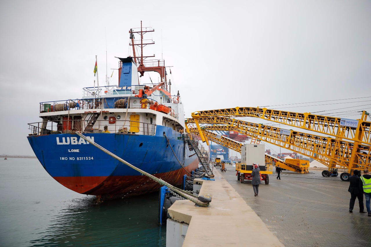 وصول أول سفينة عالمية بعد تشغيل أرصفة ميناء شرق بورسعيد الجديدة