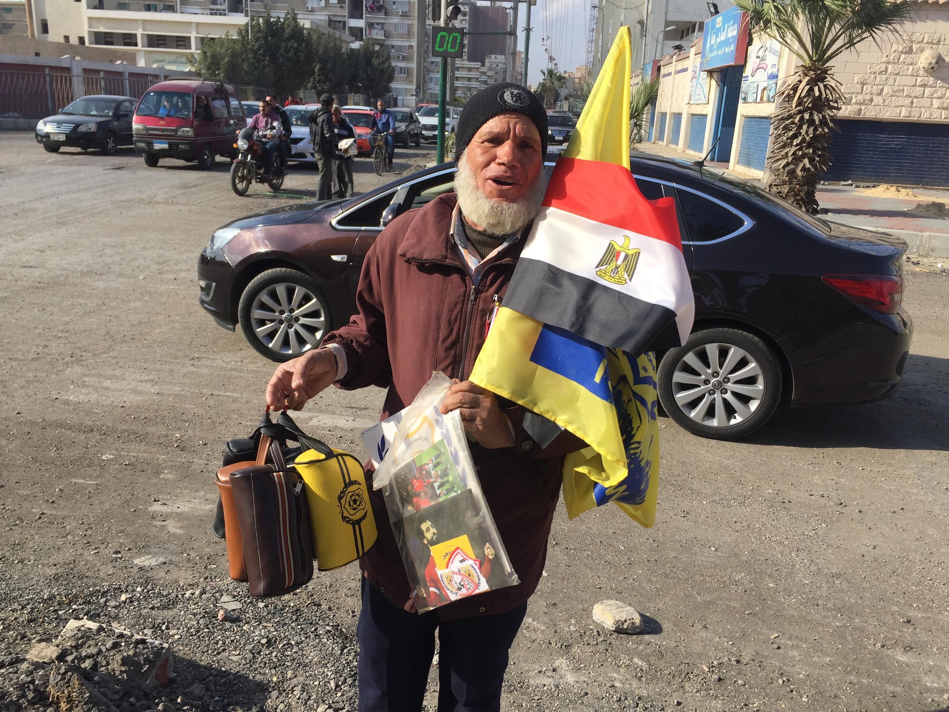 عم محمود بائع أعلام (2)