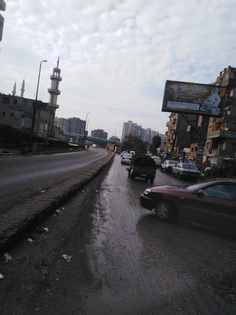 صرف القاهرة والجيزة ينجحان فى التعامل مع مياه الأمطار (2)