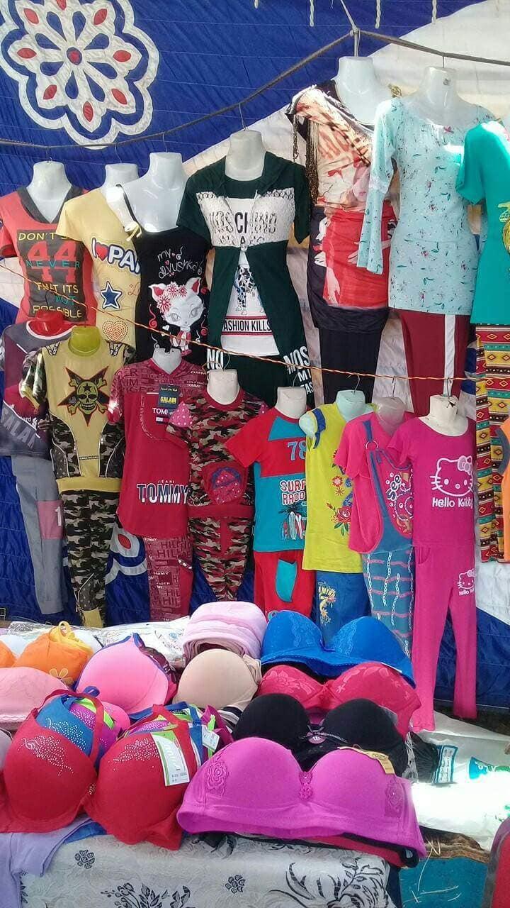 فتيات بكفر الشيخ تنظمن المعارض لتوفير السلع  (8)