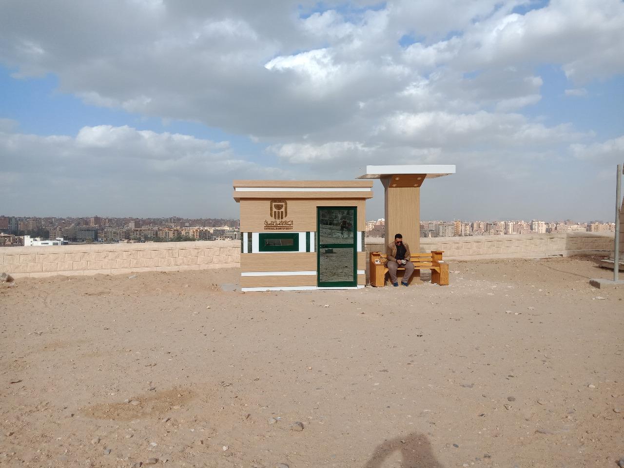وحدات خدمية بمنطقة آثار الهرم (6)