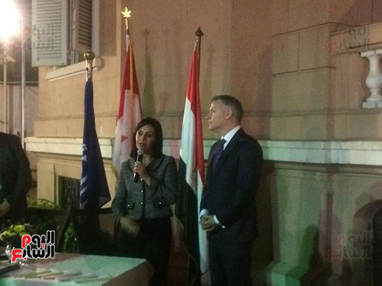 سفارة كندا تكرم عددا من المصريات (10)