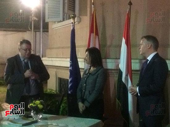 سفارة كندا تكرم عددا من المصريات (8)