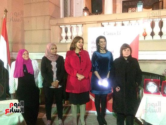 سفارة كندا تكرم عددا من المصريات (3)
