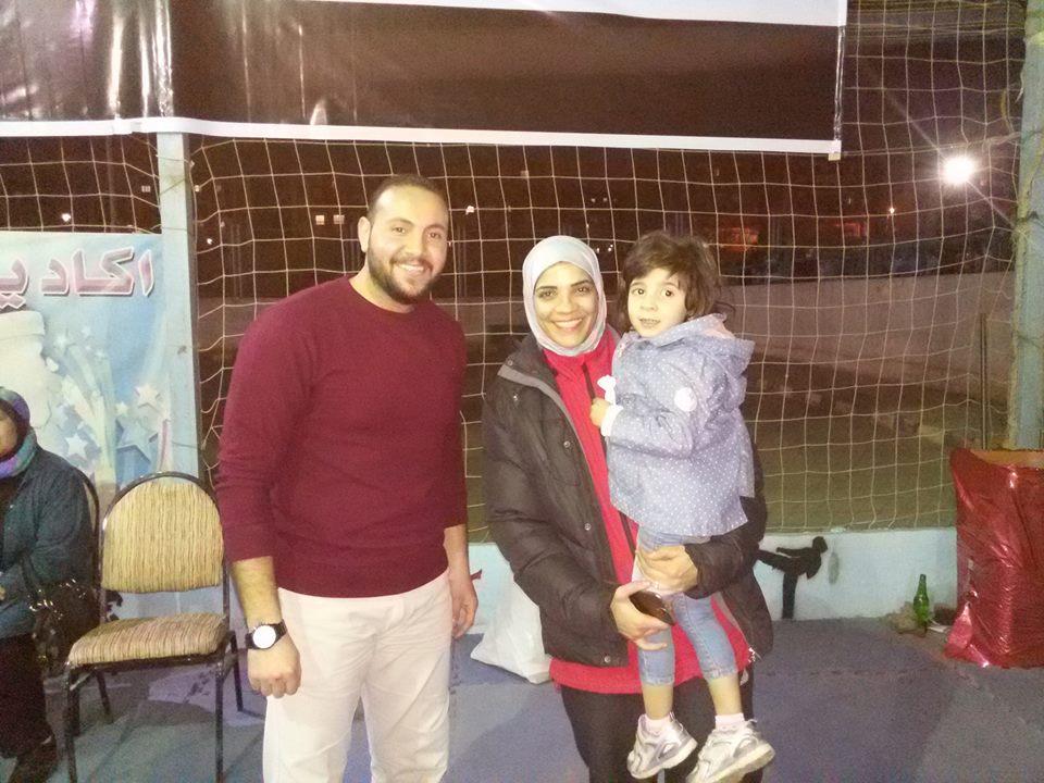 ابو اليزيد مع ابنتها