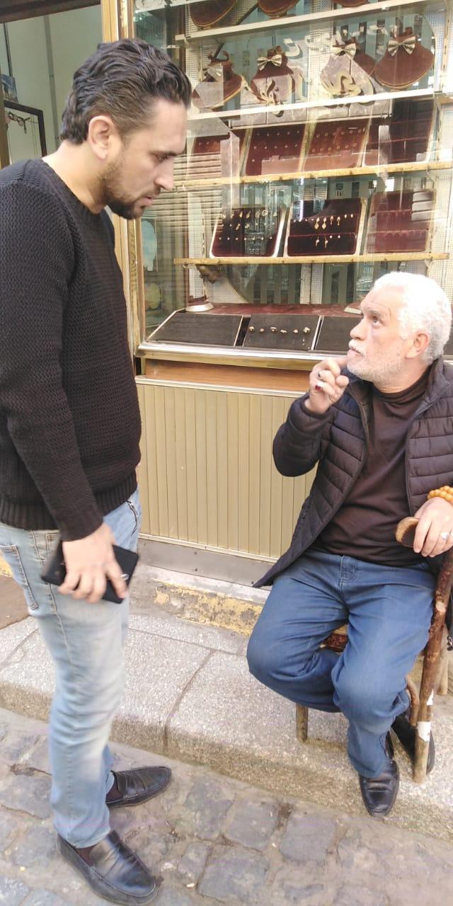 أقدم بائعى شارع الصاغة يتحدث لمحرر اليوم السابع