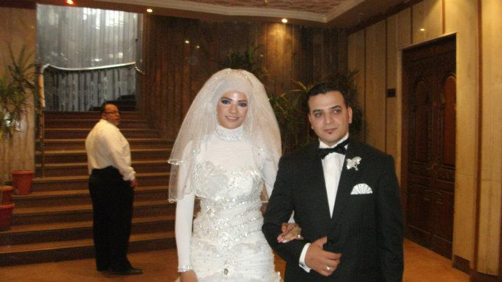 بطلة الكاراتيه فى حفل الزفافا