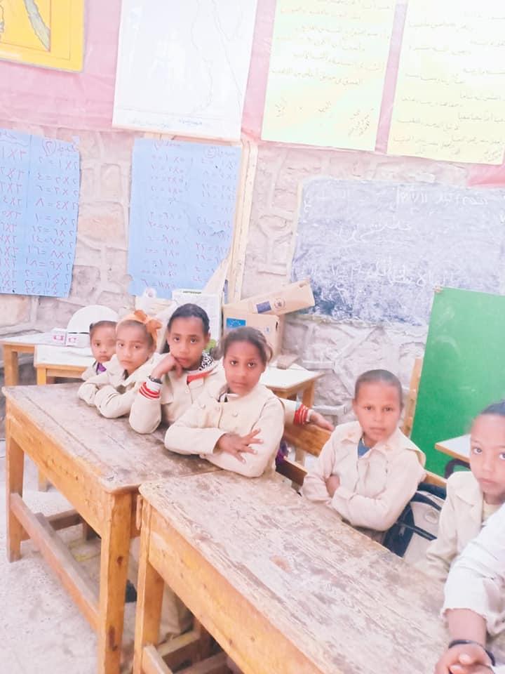 تلاميذ المدرسة