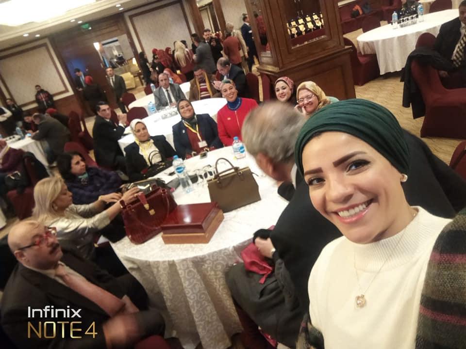 ابو اليزيد فى احدى المؤتمرات