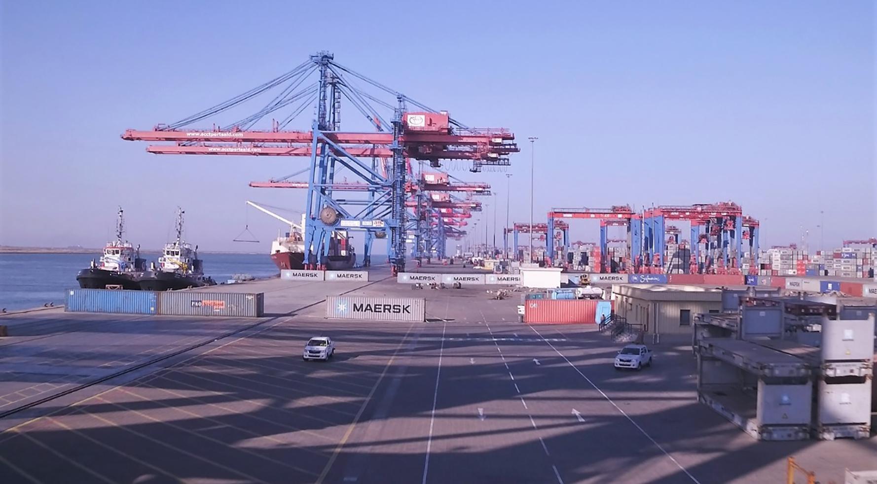 ميناء شرق بورسعيد (2)