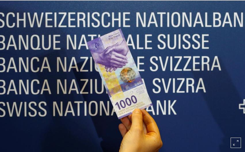 فرانك سويسري