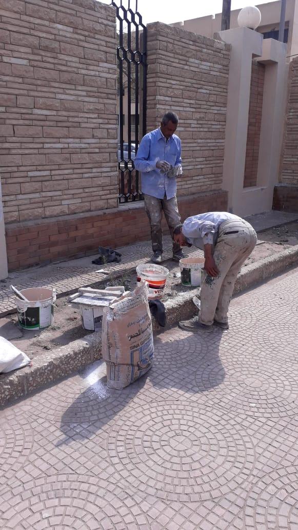 جهود محافظة القاهرة لتطوير محيط استاد القاهرة  (1)