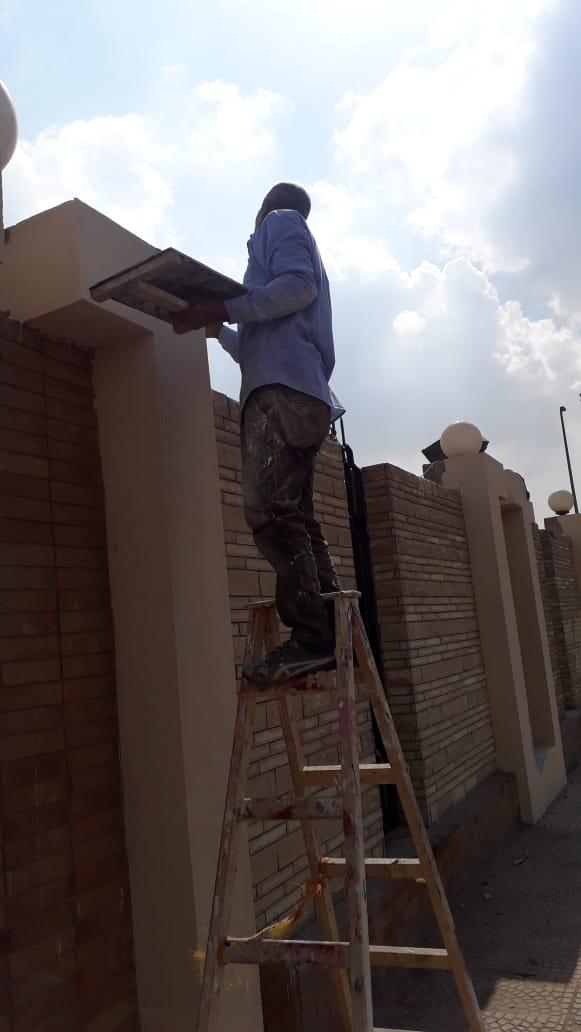 جهود محافظة القاهرة لتطوير محيط استاد القاهرة  (6)