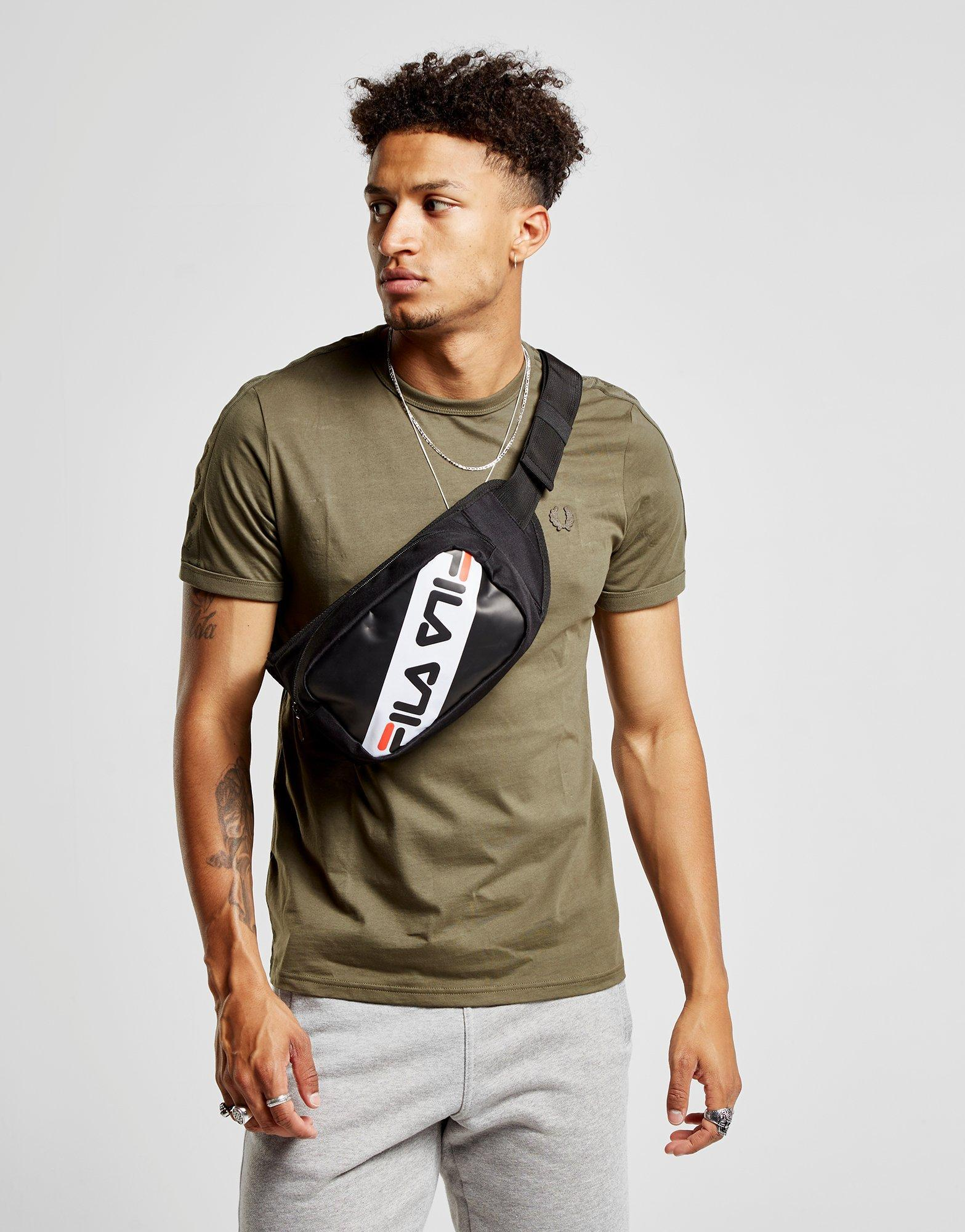 fila-BlackWhiteRed-Ola-Waist-Bag