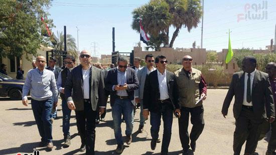الوزراء بمعسكر الشباب القومى  (2)