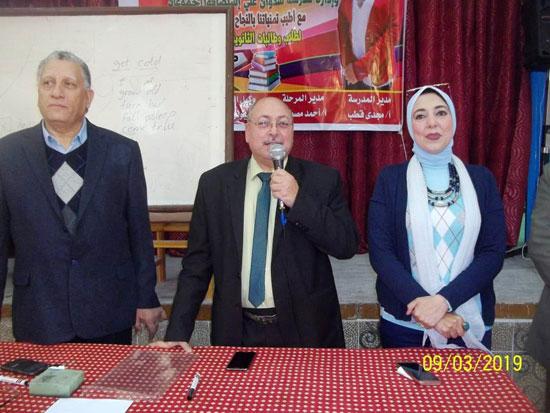 انطلاق ماراثون المراجعات المجانية بمدارس الإسكندرية (1)