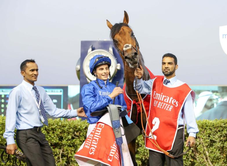 جانب من افتتاح سباق الخيول فى الامارات