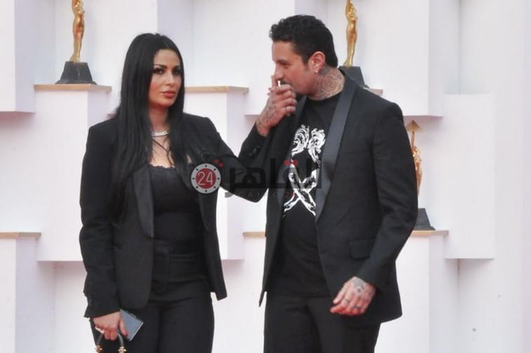 احمد الفيشاوى وزوجته