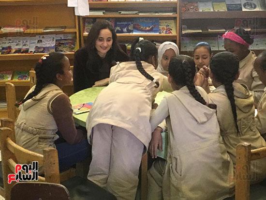 تعليم النواب تواصل زيارتها لمدارس أسوان (5)