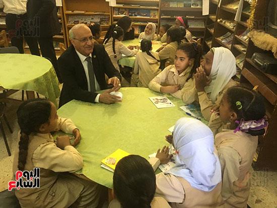 تعليم النواب تواصل زيارتها لمدارس أسوان (3)