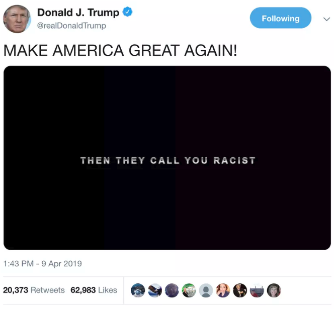Twitter Trump on Twitter