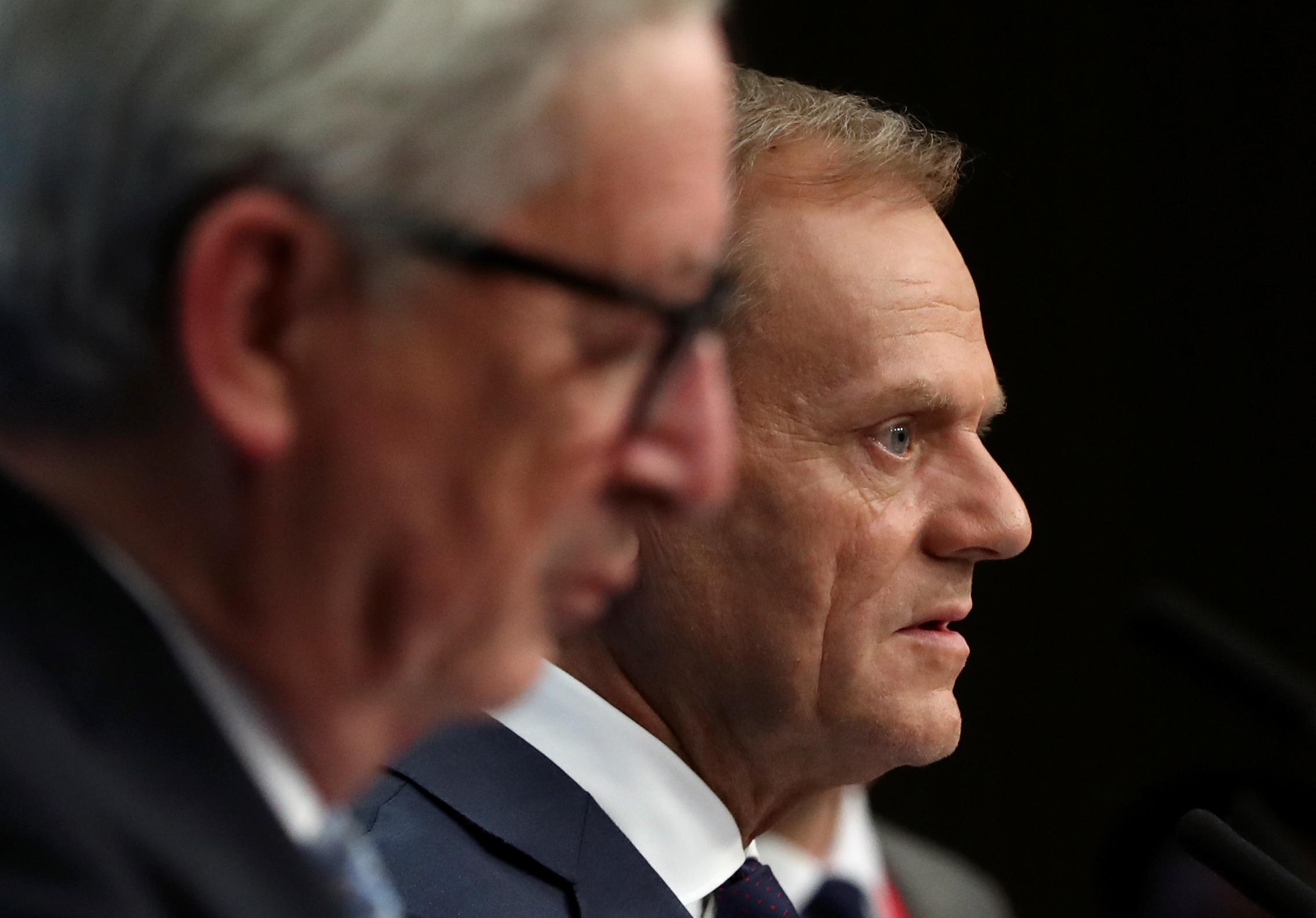رئيس المفوضية الأوروبية ورئيس المجلس الأوروبى