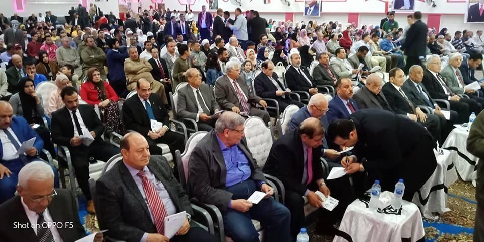 حماة الوطن ينظم مؤتمرا جماهيريا لتأييد التعديلات الدستورية (3)