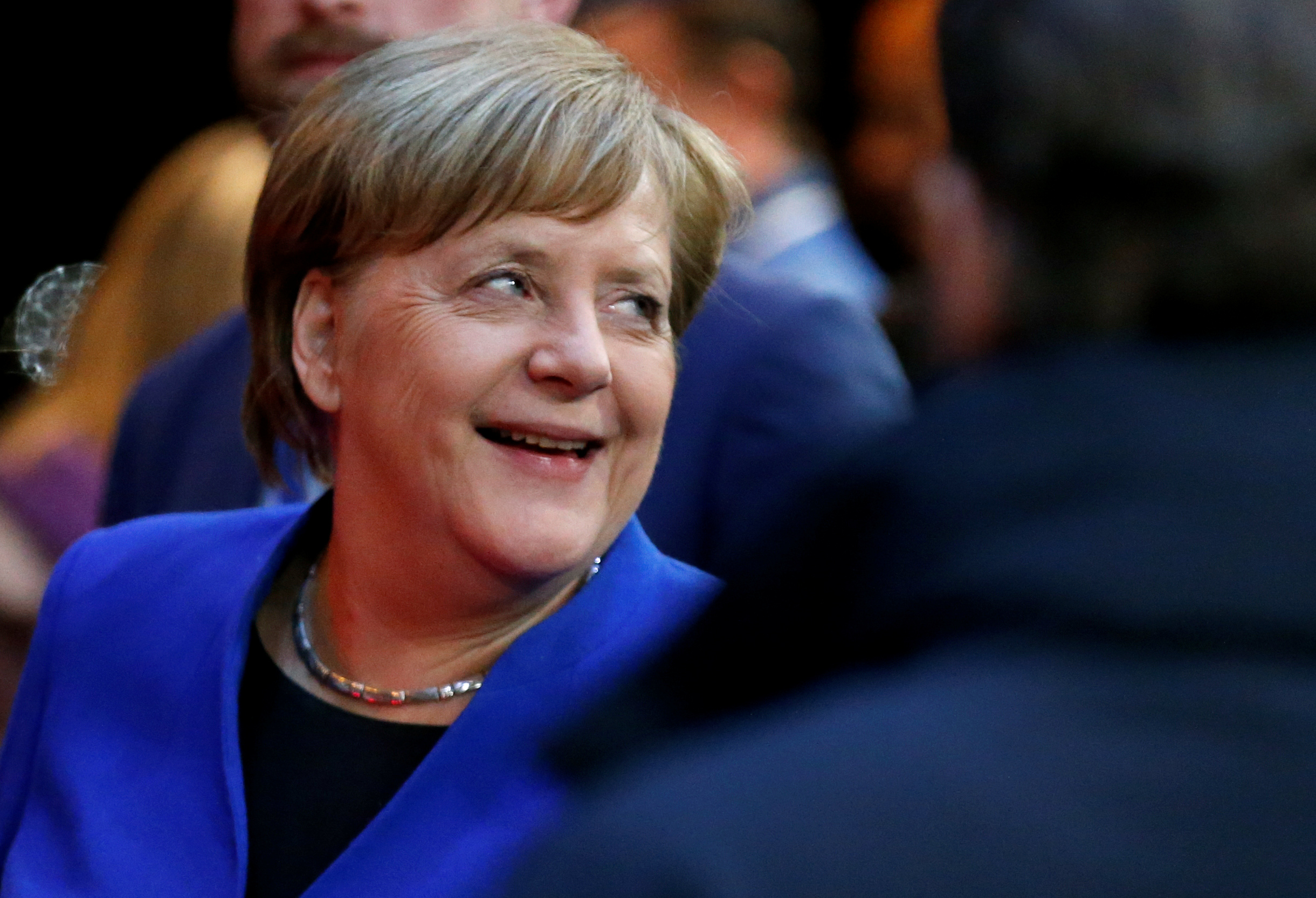 المستشارة الألمانية أنجيلا ميركل