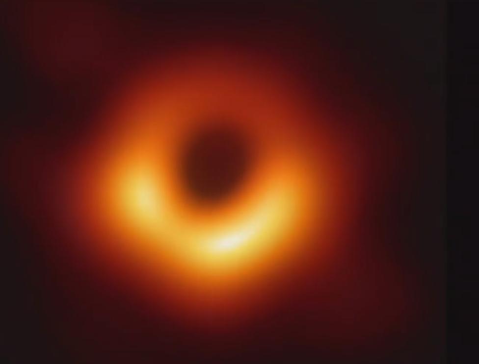 أثر الثقب الأسود