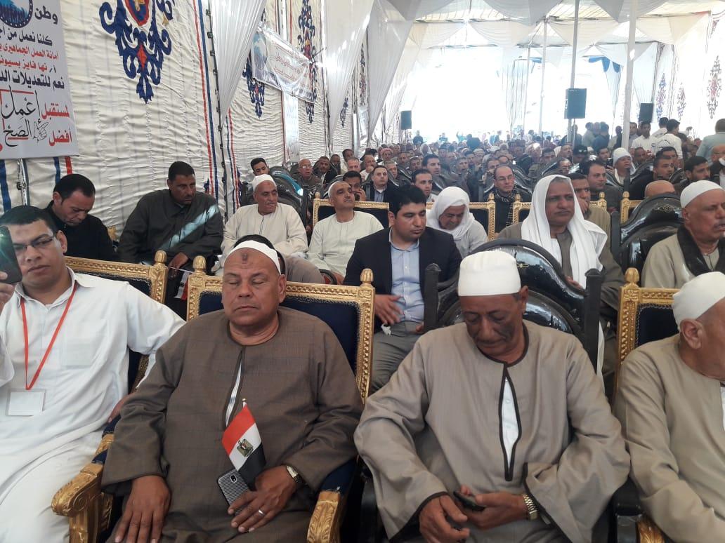 مؤتمر حزب مستقبل وطن لدعم التعديلات الدستورية في البحيرة (2)