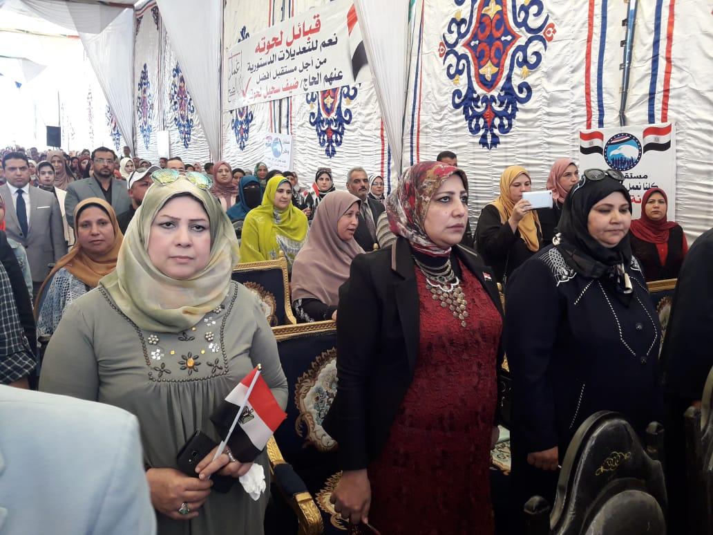 مؤتمر حزب مستقبل وطن لدعم التعديلات الدستورية في البحيرة (6)
