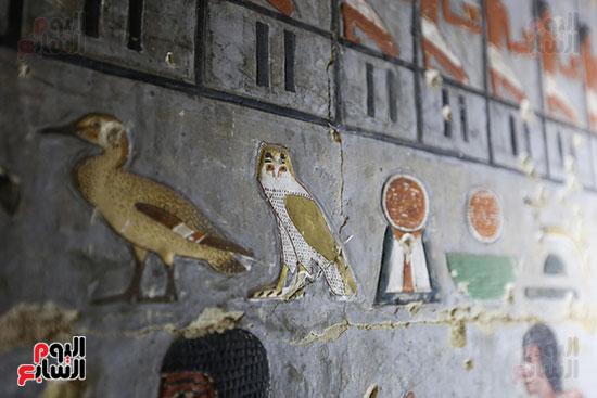 مقبرة خوى أحد النبلاء فى مصر  فى سقارة (12)