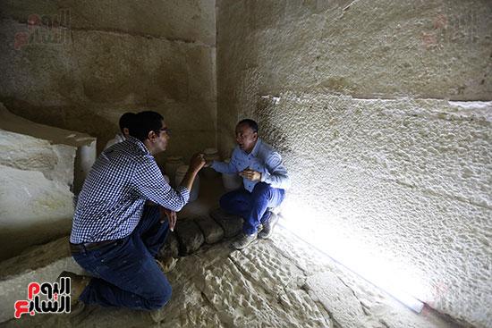 مقبرة خوى أحد النبلاء فى مصر  فى سقارة (25)