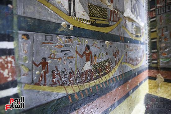 مقبرة خوى أحد النبلاء فى مصر  فى سقارة (24)