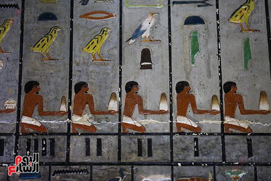 مقبرة خوى أحد النبلاء فى مصر  فى سقارة (23)